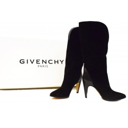 Givenchy Stivali Suede Neri