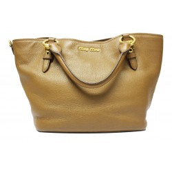 Miu Miu Shopping Beige