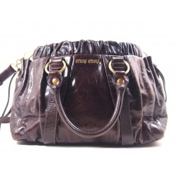 Miu Miu Shopping Pelle Marrone