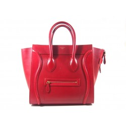 Celine Luggage Rossa