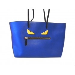 Fendi Monster Pelle Blu