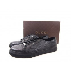 Gucci Sneakers Pelle Nera