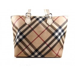 Burberry Shopping Check Beige