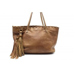 Gucci Shopping Bamboo Pelle...