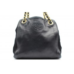 Prada Shopping Pelle Blu