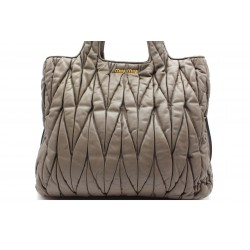 Miu Miu Shopping Bag Taupe...